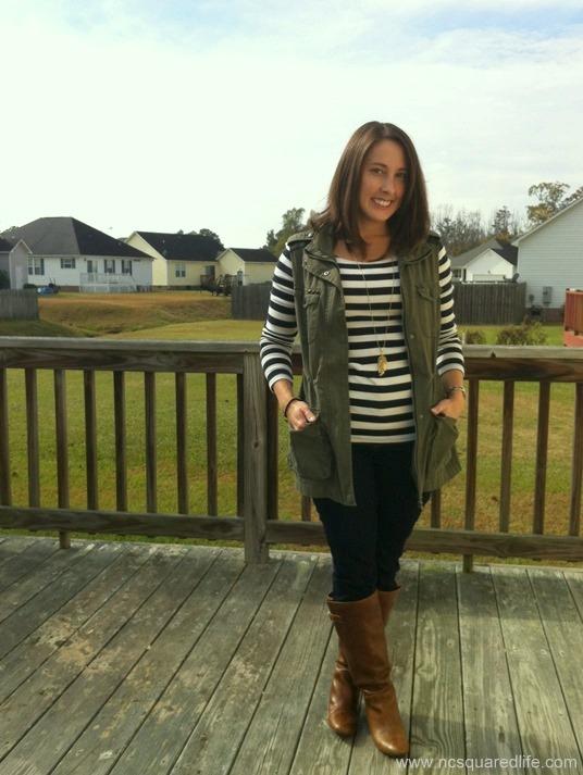 stripes vest 2