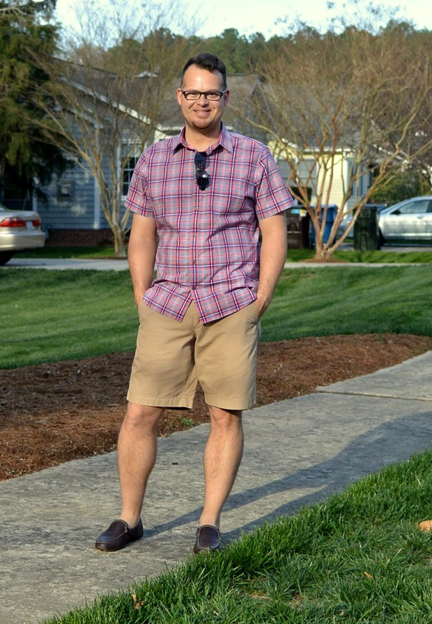 Menswear Monday: Shorts and Loafers