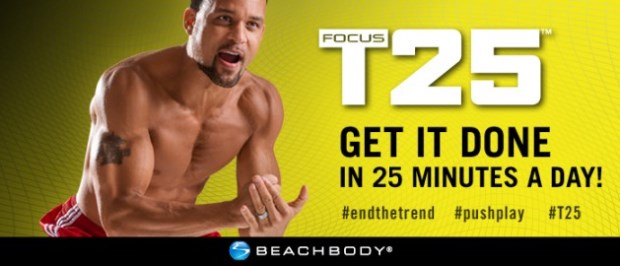 Focus T25 workout | NCsquared Life