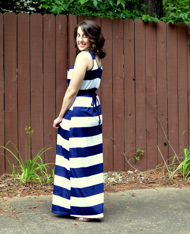 Striped Maxi Dress | NCsquared Life