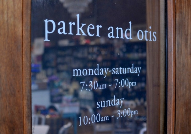 Around Town : Parker & Otis | NCsquared LIfe