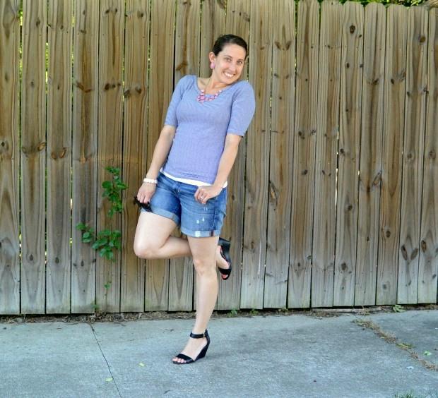 Denim Boyfriend Shorts | NCsquared Life