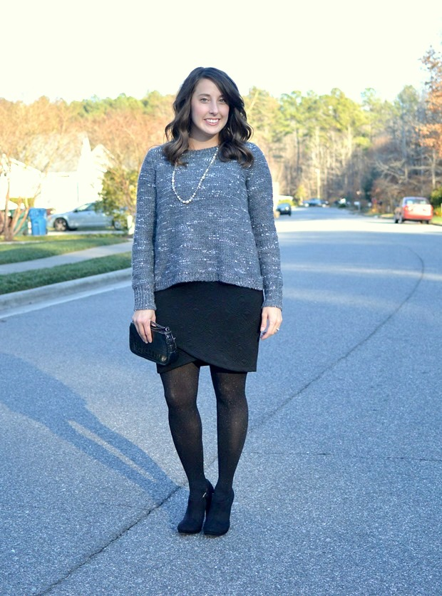 Sweater and Skirt Combo | NCsquared Life