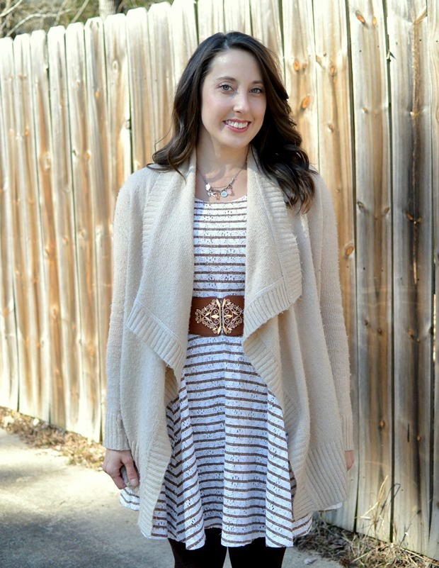 Winterizing a Summer Dress | NCsquared Life