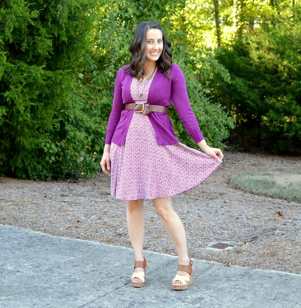 Dress Week: Printed Cami Dress | NCsquared Life