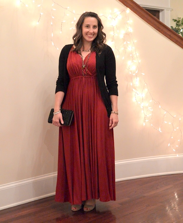 I Wore a Grecian Dress to My Friend's Wedding | NCsquared Life