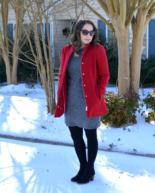 Perfect Winter Dress | NCsquared Life