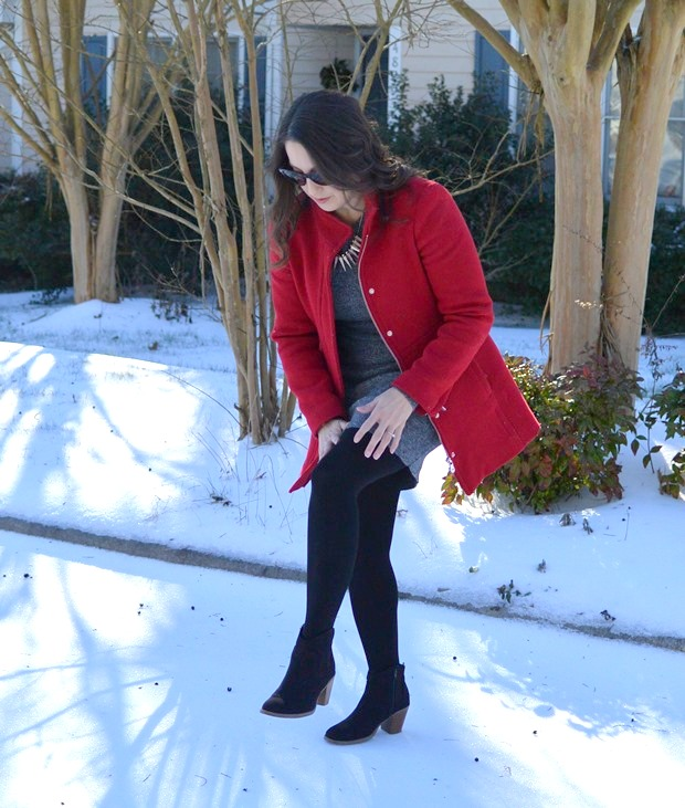 Blooper: Perfect Winter Dress | NCsquared Life