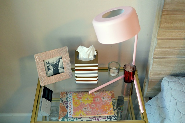 Mini House Tour: Bedside Table | NCsquared Life