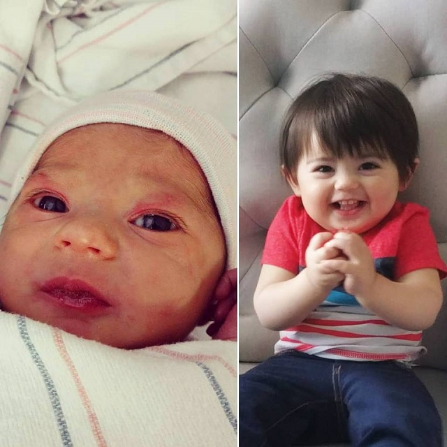 Sebastian, then and now | Nikki by example