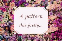 A Pattern This Pretty